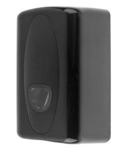 Toilet tissue dispenser kunststof zwart - Zwart PlastiQline 2020
