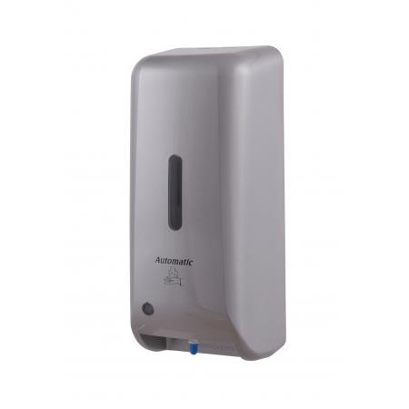 Zeepdispenser automatisch kunststof RVS look ABS kunststof RVS look MediQo-line